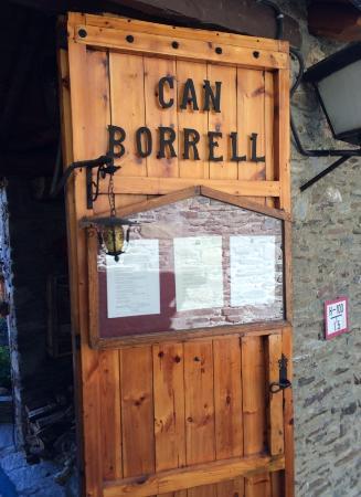 Meranges, Spanyol: Entrada