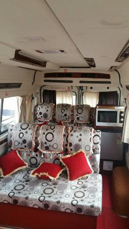 Rent Tempo Traveller Luxury Ac Hire Delhi