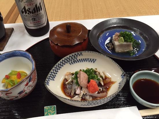 Beppu Showaen: お食事は河豚懐石