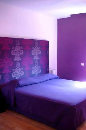 Emily Suites: Purple suite.
