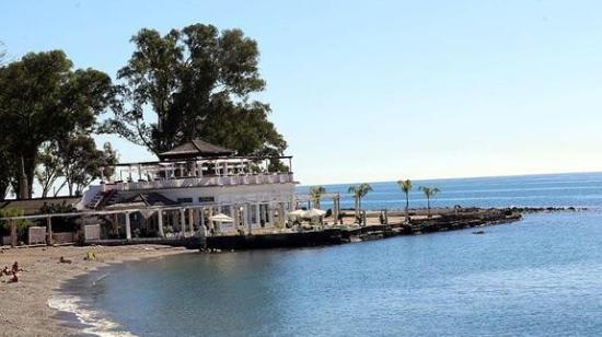 Hotel Domus: Playa