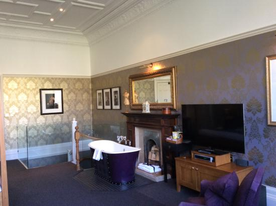 Hotel Du Vin At One Devonshire Gardens: A Massive Room With Bath In Bedroom  And