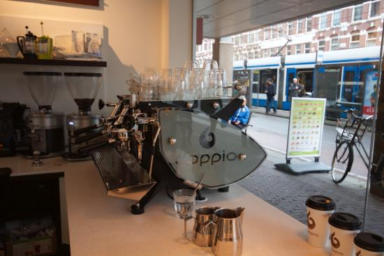 Doppio Espresso Kinkerstraat Amsterdam