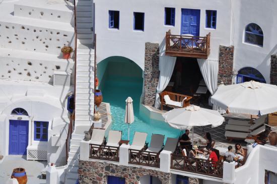 سانتوريني, اليونان: Vista general