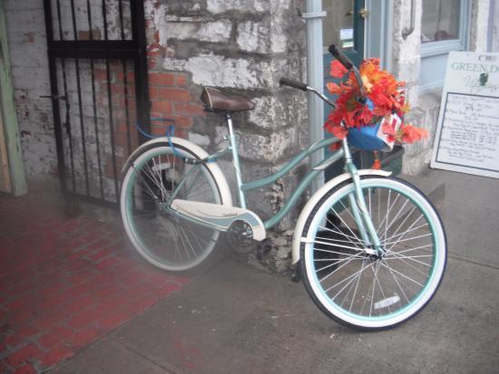 Martello Alley: the bike
