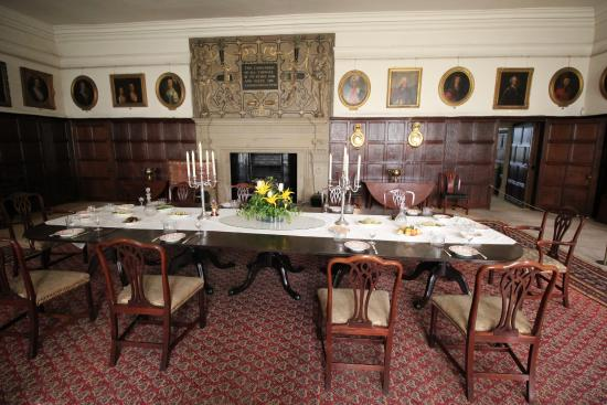 Dining Room Picture Of Hardwick Hall And Gardens Chesterfield
