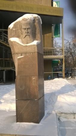 Памятник В.А. Обручеву