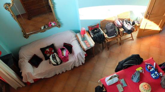 Castellero, Italia: salottino dell'appartamento