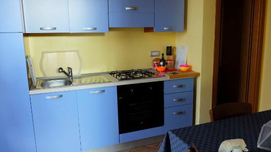 Castellero, Italia: cucina dell'appartamento