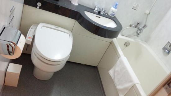 Excel City Hotel: バス・トイレ