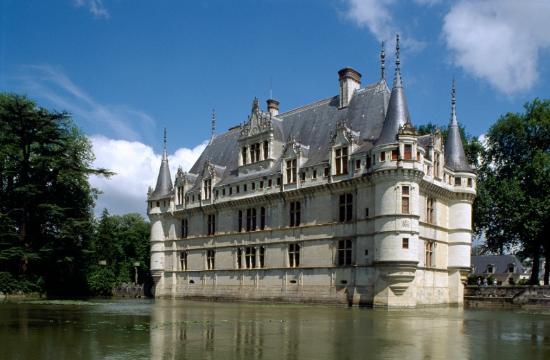 Les Trois Lys : chateau d'Azay le Rideau
