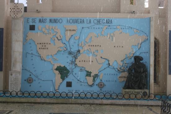 portugal dos pequeninos mapa Mapa das Conquistas   Picture of Portugal dos Pequenitos, Coimbra  portugal dos pequeninos mapa