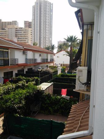 Rinconada Real: view from balcony