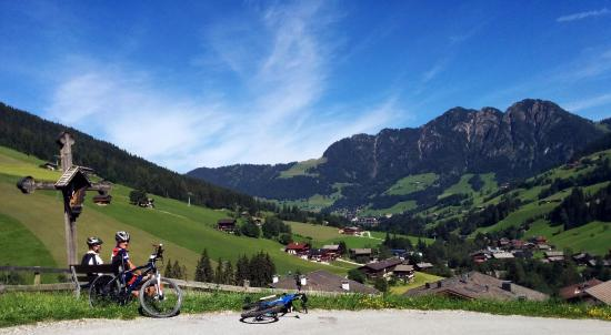 Kramsach, Austria: Get those cycling legs out