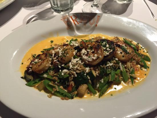 BRAVO Cucina Italiana: Grilled Shrimp