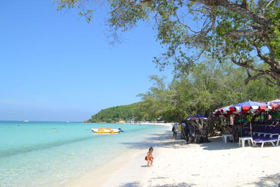 Thien beach - Picture of Koh Lan (Coral Island), Pattaya - TripAdvisor