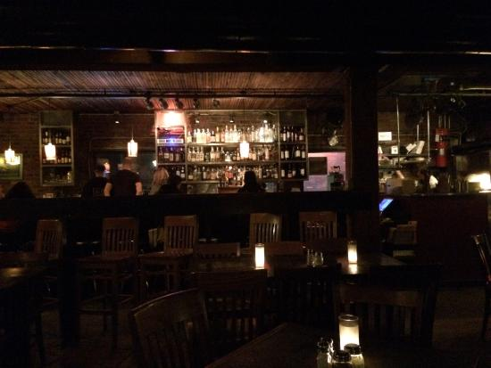 View from opposite wall to bar. - Picture of Alibi Room, Seattle ...