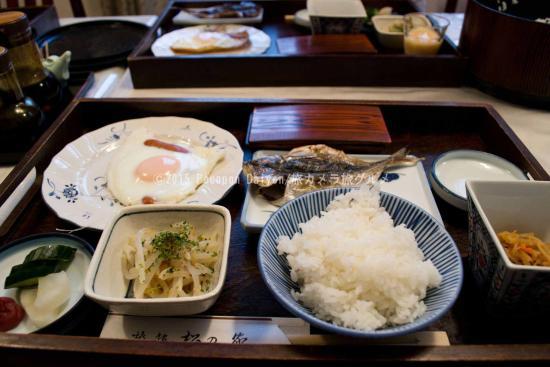 Matsunoya Ryokan: 朝食