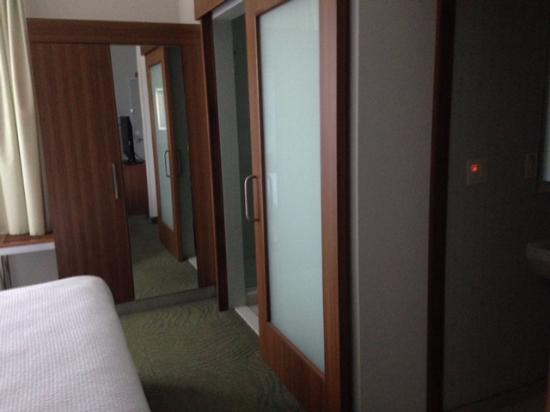 SpringHill Suites by Marriott Tampa North / Tampa Palms : separate shower area