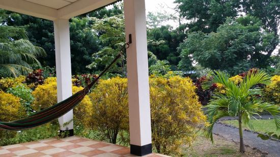 Moyogalpa, Νικαράγουα: My favorite part of my cabana patio
