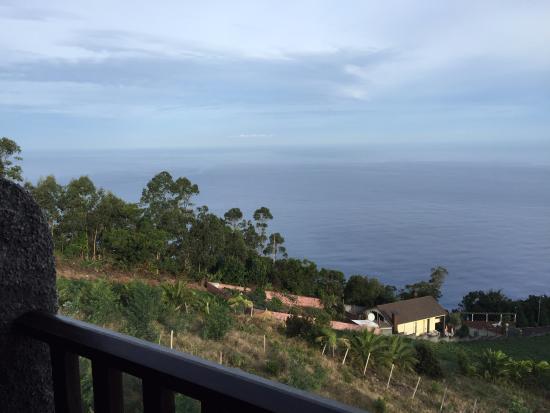 Casa Das Proteas: Вид с балкона.