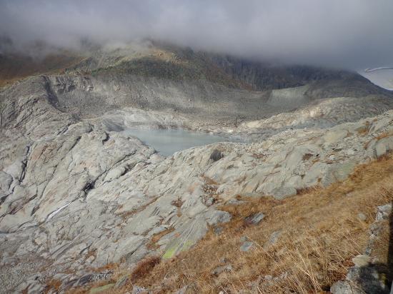 Gletsch, Suisse : Rhone glacier