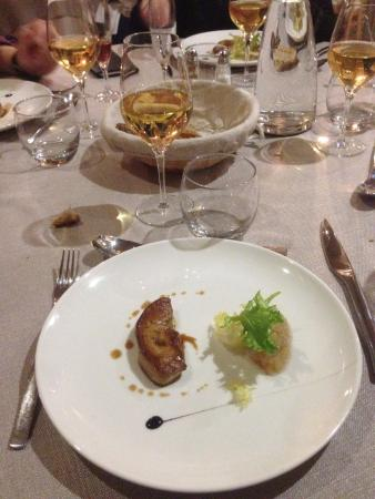 Saint Lieux les Lavaur, France : Entrée 1 ( foie gras )