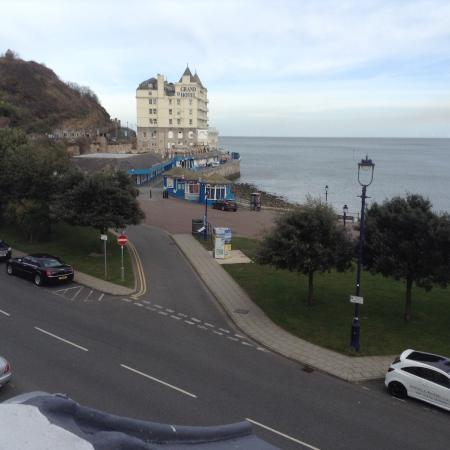 Lauriston Court Hotel: A look at the Grand Hotel from our window at the Lauriston Hotel