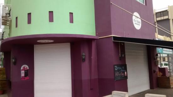 Cafe de Tijd Curacao : Parte da frente do bar