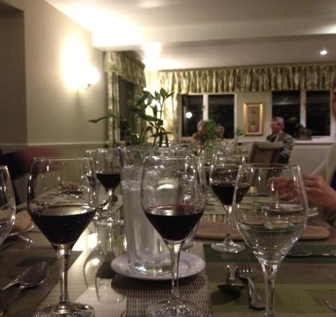 Wilton, UK: table for 5