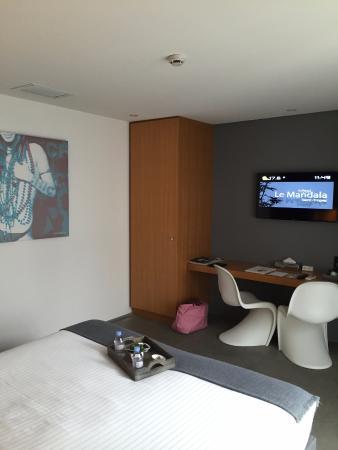 chambre bild von hotel le mandala saint tropez tripadvisor. Black Bedroom Furniture Sets. Home Design Ideas