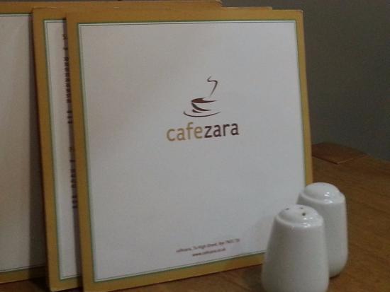 Cafe Zara: Nice decor