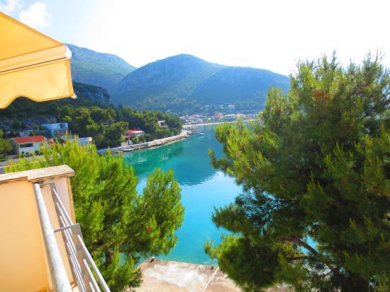 Klek, Kroatien: vue du salon