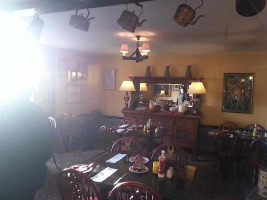 Winchelsea, UK: dining area