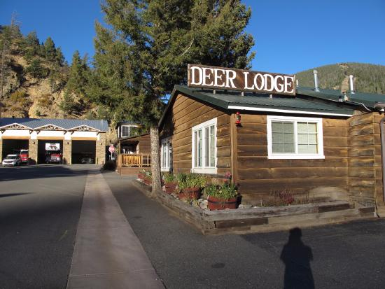 Deer Lodge Red River: the motel