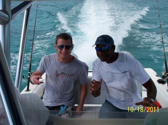 Catch the Wave Charters : Christian!