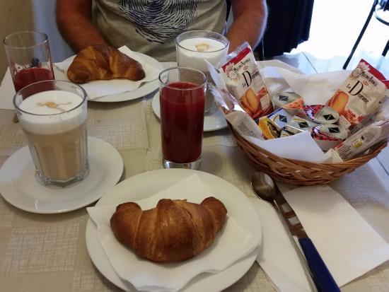 Albergo Venezia: café da manhã