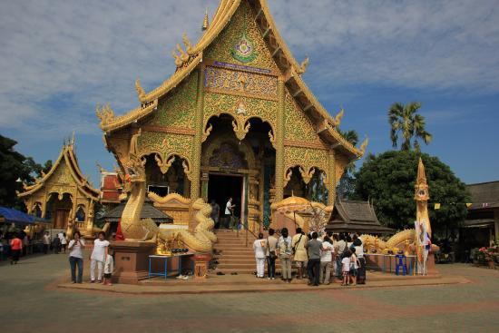 Baan Janthai: tempel
