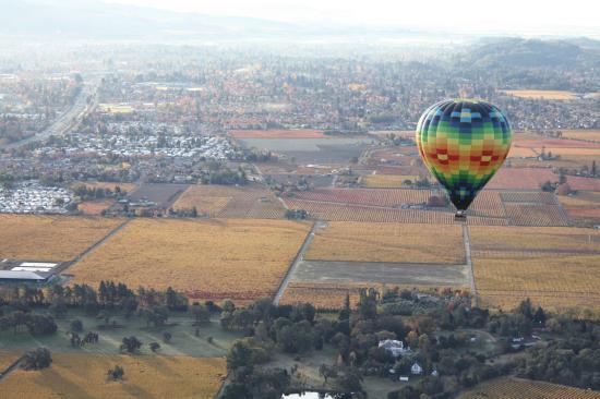 Napa Valley Drifters: Balloon over Napa Valley II