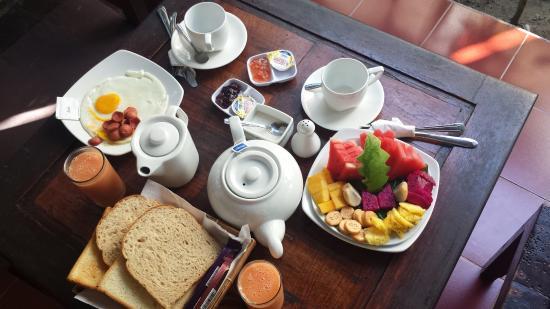 Tropical Bali Hotel: Superbe petit déj