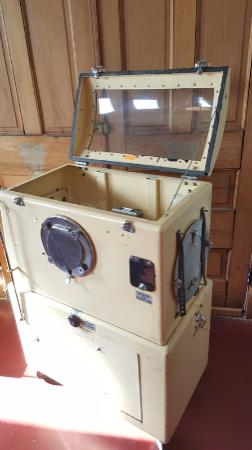 Indiana Medical History Museum: Iron lung (for polio)