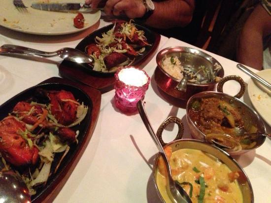 Mendi : Goanese prawns, Mutton Karahi Masala