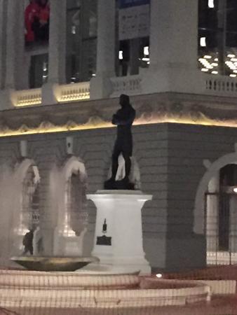 Black Statue of Raffles