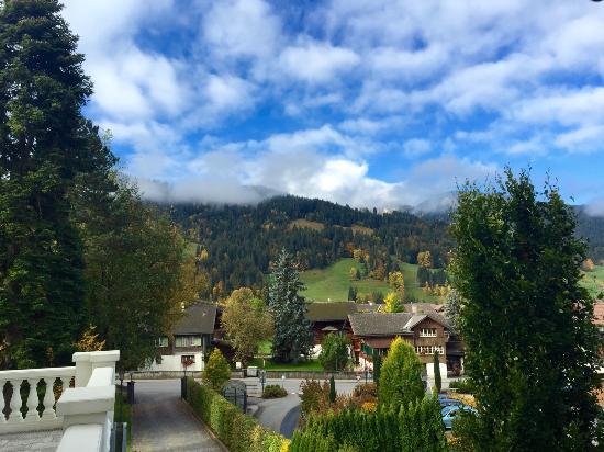Le Grand Bellevue: Mountain view