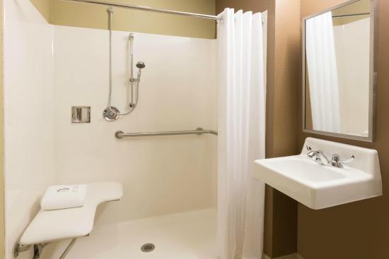 Microtel Inn & Suites by Wyndham Sylva Dillsboro Area : ADA Bath