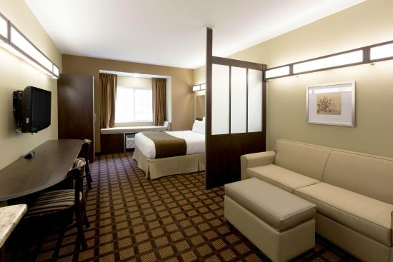 Microtel Inn & Suites by Wyndham Sylva Dillsboro Area : Suite