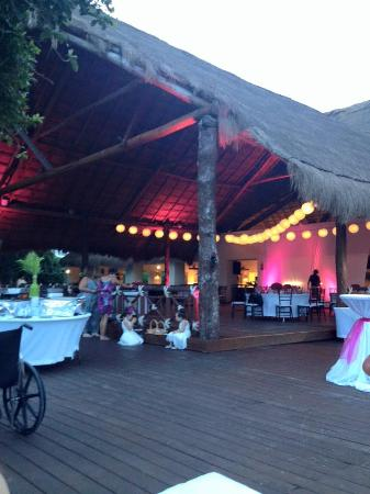 Occidental At Xcaret Destination Beach Club Wedding Tail Hour