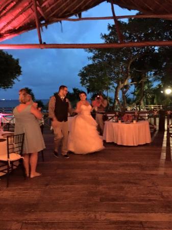 Occidental At Xcaret Destination Beach Club Wedding Reception