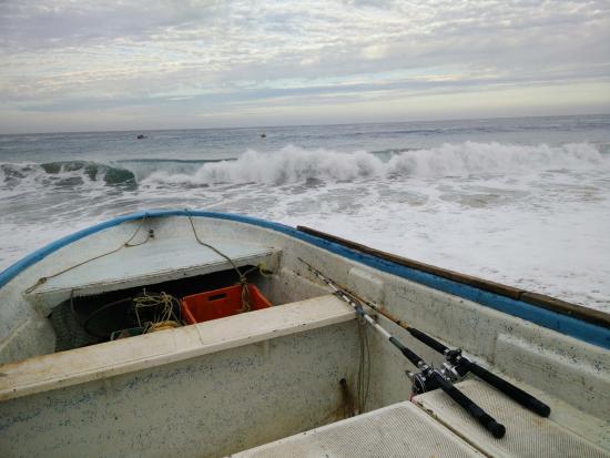 Тодос-Сантос, Мексика: our boat