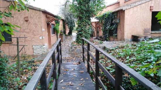 Fuenteheridos, España: Jardín